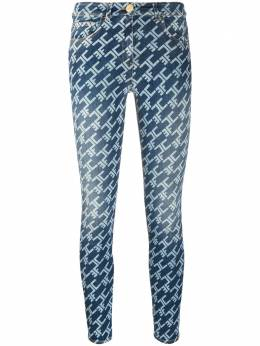 Elisabetta Franchi джинсы скинни с монограммой PJ71I06E2