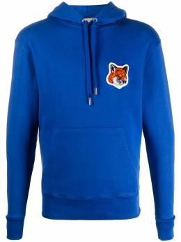 Maison Kitsune fox patch hoodie FU00384KM0001