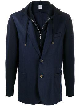 Eleventy многослойный пиджак с капюшоном B71MAGB33MAG0B029