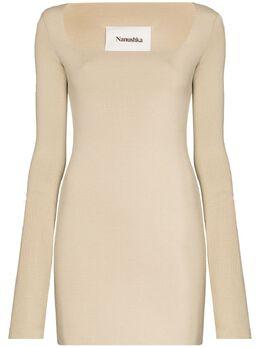 Nanushka трикотажное платье мини Leah NW20FWDR04072