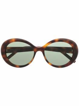 Saint Laurent Eyewear солнцезащитные очки SL419 в круглой оправе