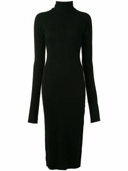 Yohji Yamamoto платье с высоким воротником FRT10170