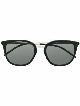 Saint Laurent Eyewear солнцезащитные очки с узкими дужками SL375SLIM