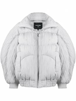 Chen Peng pleated oversized down jacket CP20AWJ015