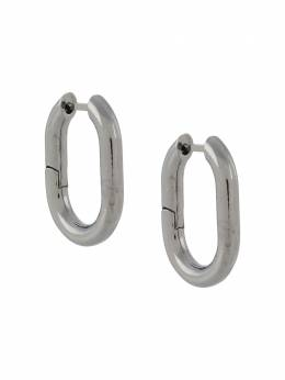 Federica Tosi link-effect hoop earrings FT0106