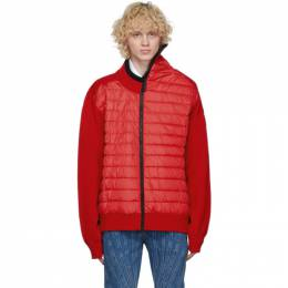 Y / Project Red Canada Goose Edition Down Hybridge Jacket YPCGMPULL1