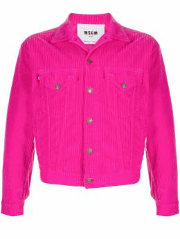 MSGM corduroy cropped jacket 2940MH52T207737
