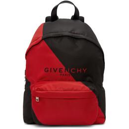 Givenchy Black and Red Urban Backpack BK500JK10C