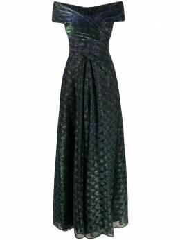 Talbot Runhof вечернее платье TOLINDA7GO10