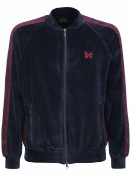 Спортивная Куртка Из Хлопкового Шенила Needles 72IJR4006-TkFWWQ2