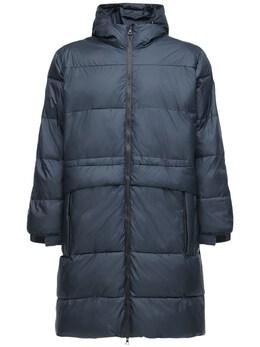 Нейлоновое Пальто С Капюшоном Ea7 72I4Q2005-MTU3OA2
