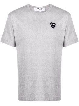 Comme Des Garcons Play футболка с нашивкой-логотипом P1T296