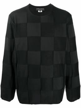 Comme Des Garcons Homme Plus check pattern jumper PFN031