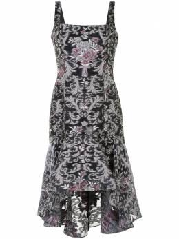 Marchesa Notte платье асимметричного кроя N42C2108