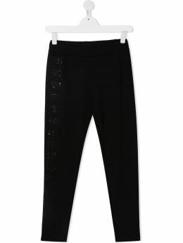 Alberta Ferretti Kids спортивные брюки с логотипом 025360T