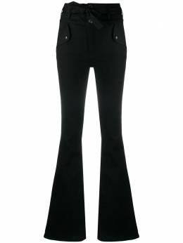 Veronica Beard расклешенные джинсы с завязками J20070740682RV