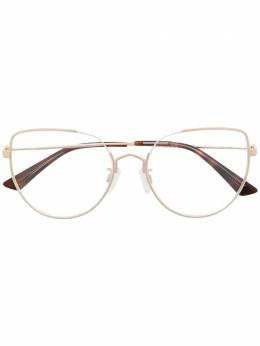 MCQ by Alexander McQueen очки в массивной оправе 'кошачий глаз' MQ0292O
