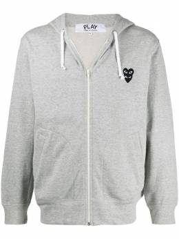 Comme Des Garcons Play chest logo hoodie P1T302