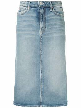 Mother джинсовая юбка-карандаш 9385844