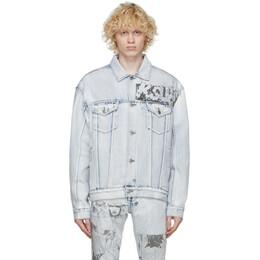 Ksubi Blue Denim Oh G Comik Jacket 52200