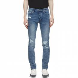 Ksubi Blue Chitch Runaway Ripped Jeans 52020