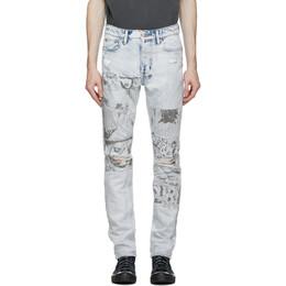 Ksubi Blue Chitch Comik Jeans 54630