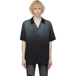 Ksubi Black Dust Short Sleeve Shirt 52920