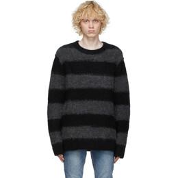 Ksubi Black and Grey Kingpin Sweater 53860