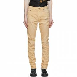 Ksubi Tan Chitch Trashed Jeans 52700