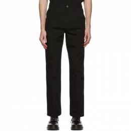 Carhartt Work In Progress Black Single Knee Trousers I026463