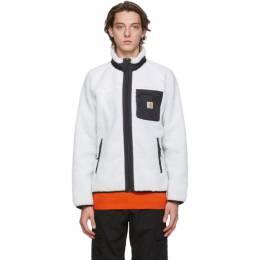 Carhartt Work In Progress White Prentis Jacket I025120