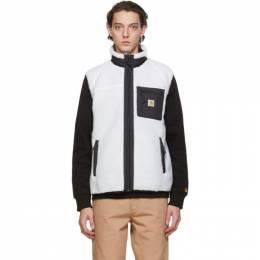 Carhartt Work In Progress White Prentis Vest I026719