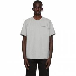 Carhartt Work In Progress Grey University Script T-Shirt I028369