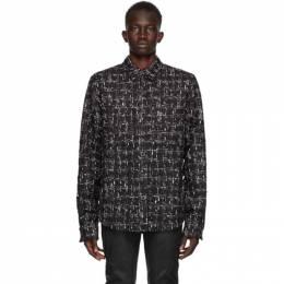 Faith Connexion SSENSE Exclusive Black Fabric 3 Shirt X1820T00554