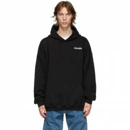 Vetements Black Definition Hoodie UE51TR310B