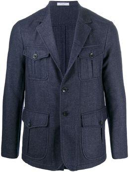 Boglioli куртка с узором шеврон OG060JBSC431