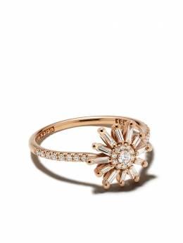 Suzanne Kalan кольцо Star из желтого золота с бриллиантами BAR222YG