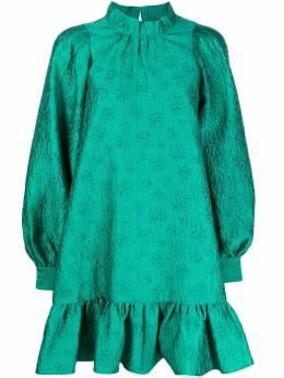 Ulla Johnson расклешенное платье с высоким воротником FA200146