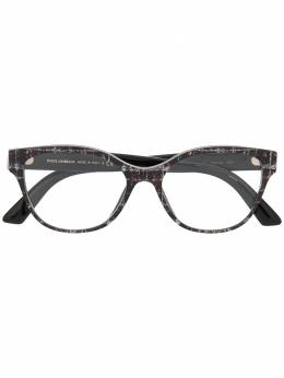 Dolce&Gabbana Eyewear очки в круглой оправе DG3322
