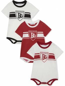 Dolce & Gabbana Kids комплект из четырех комбинезонов с логотипом L1JO0YG7VHB