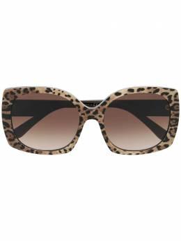 Dolce&Gabbana Eyewear солнцезащитные очки в квадратной оправе DG4385316313