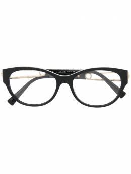 Versace Eyewear очки Safety Pin в круглой оправе VE3289
