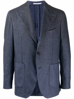 Gabriele Pasini однобортный пиджак строгого кроя GP16510