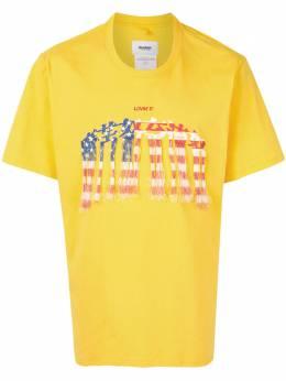 Doublet футболка с круглым вырезом и вышивкой 20AW35CS166