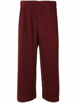 Homme Plisse Issey Miyake укороченные плиссированные брюки HP08JF142