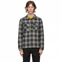 Naked And Famous Denim Grey Check Work Shirt 120321210