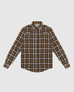 Детская темно-серая рубашка Brunello Cucinelli 2300006360077