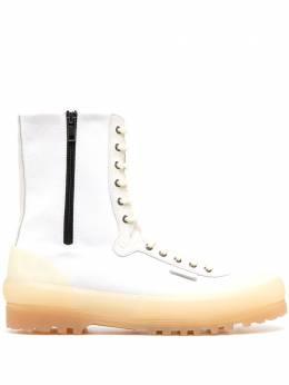 Superga высокие ботинки на шнуровке S112FGW