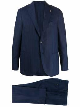 Lardini костюм-двойка в полоску EIRP54495EI854AE