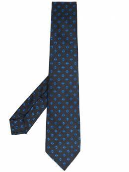 Kiton галстук с геометричным принтом UCRVKRC05G01